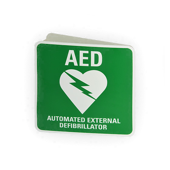 DAC-230.1 3 Way AED Wall Sign - Edit