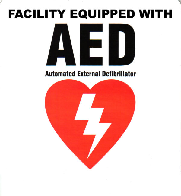 Facility Sticker