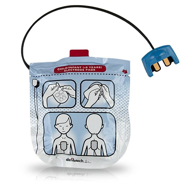 Defibtech Lifeline View Paediatric Defibrillation Pads Package DDP-2002