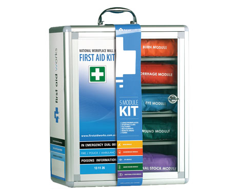 workplace modular first aid kit