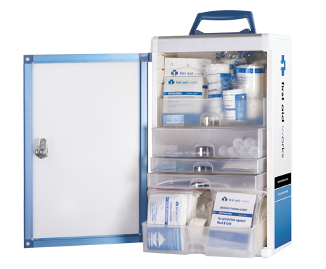 wallmount first aid cabinet