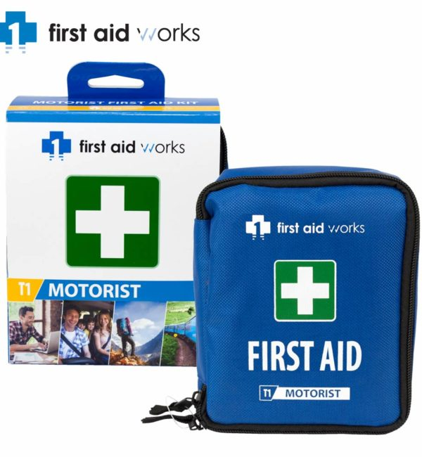 Motorist First Aid Kit FAWT12M