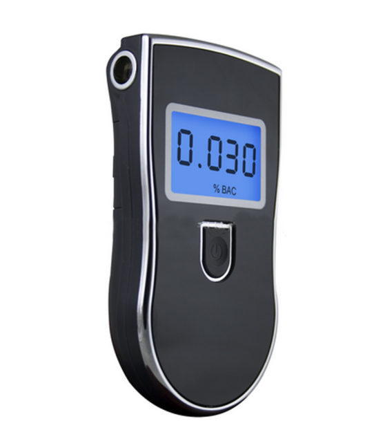 alcohol breath tester